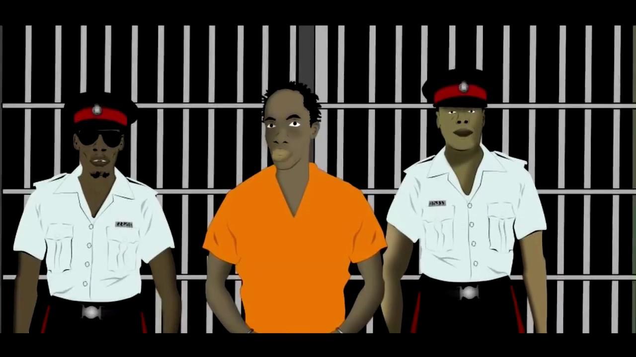 Vybz Kartel & Ninjaman Meet In Prison (Jamaican Cartoon) [11/27/2017]