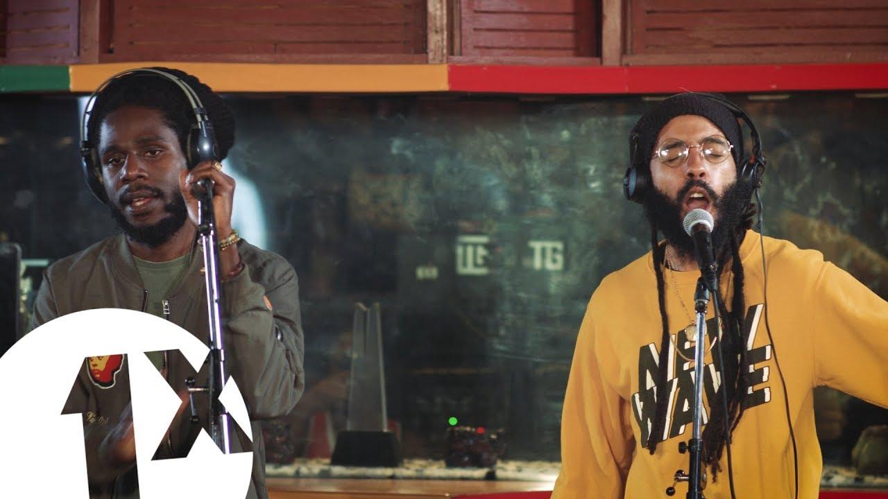 Chronixx & Protoje - Who Knows @ BBC 1 Xtra in Jamaica [2/14/2018]