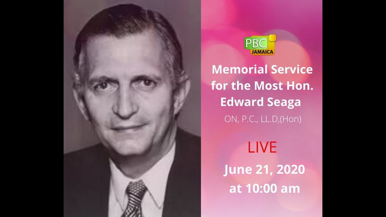 Memorial Service for Most. Hon Edward Seaga [6/21/2020]
