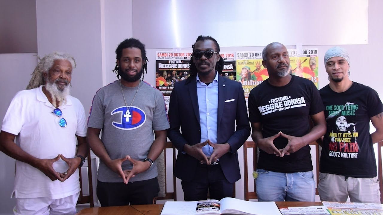 Anthony B - Press Conference in Mauritius (ION News) [10/16/2018]