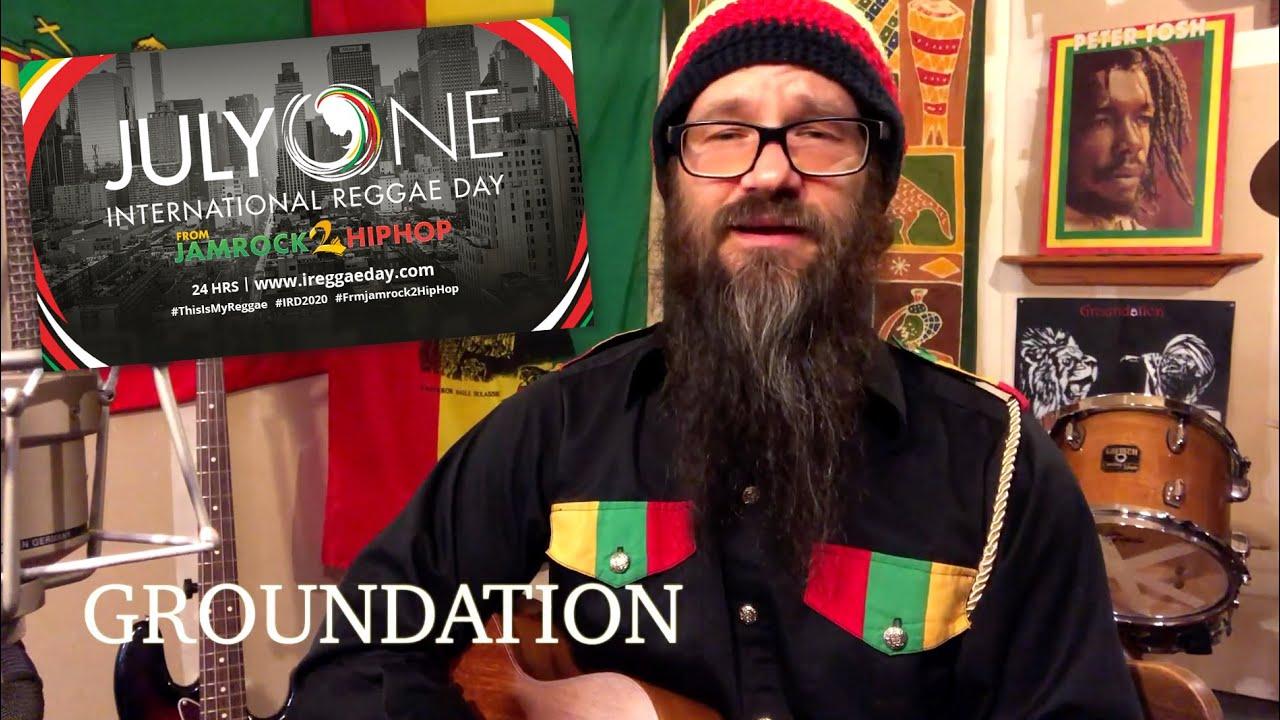 Harrison Stafford from Groundation @ International Reggae Day 2020 (Drop) [6/30/2020]