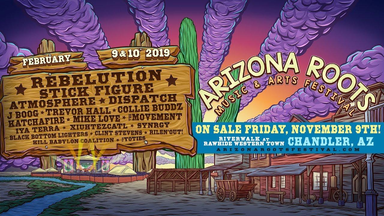 Arizona Roots Music & Arts Festival 2019 (Trailer) [11/5/2018]
