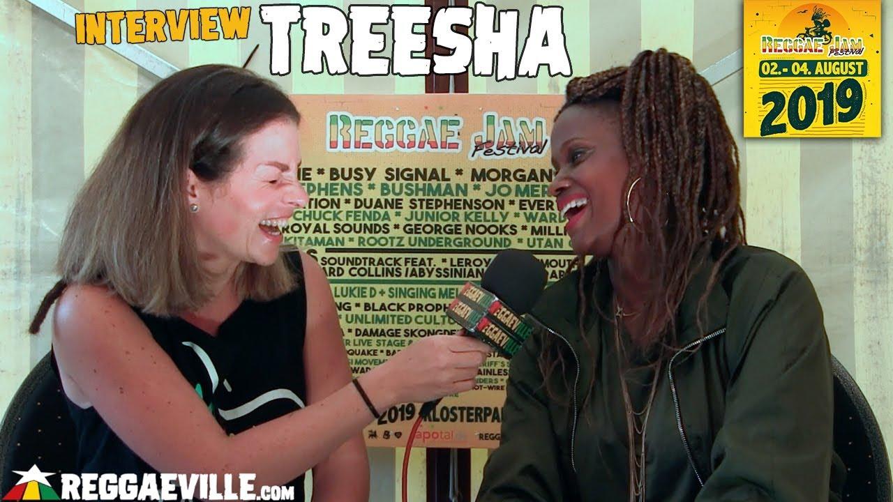 Treesha - Interview @ Reggae Jam 2019 [8/2/2019]