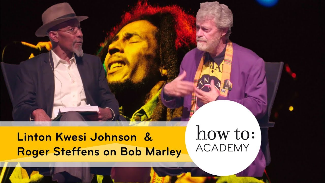 Roger Steffens & Linton Kwesi Johnson - On Bob Marley @ The Tabernacle, London [10/21/2017]