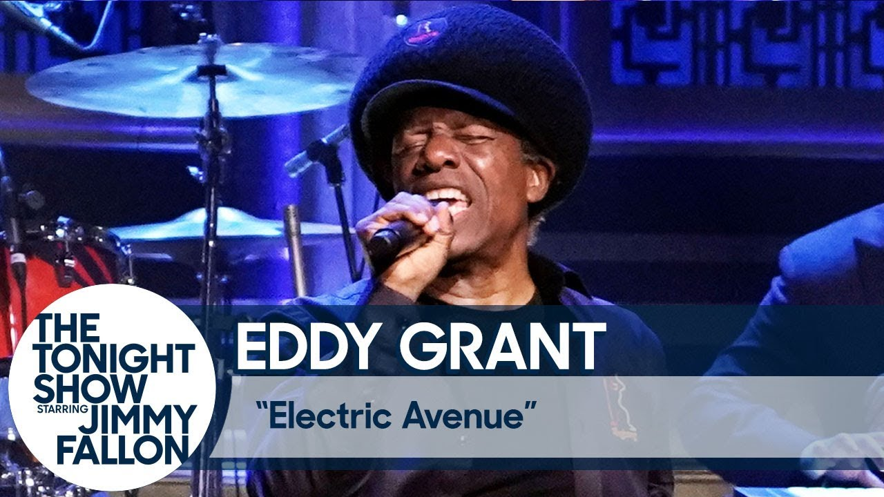 Eddy Grant - Electric Avenue @ The Tonight Show Starring Jimmy Fallon [8/1/2019]