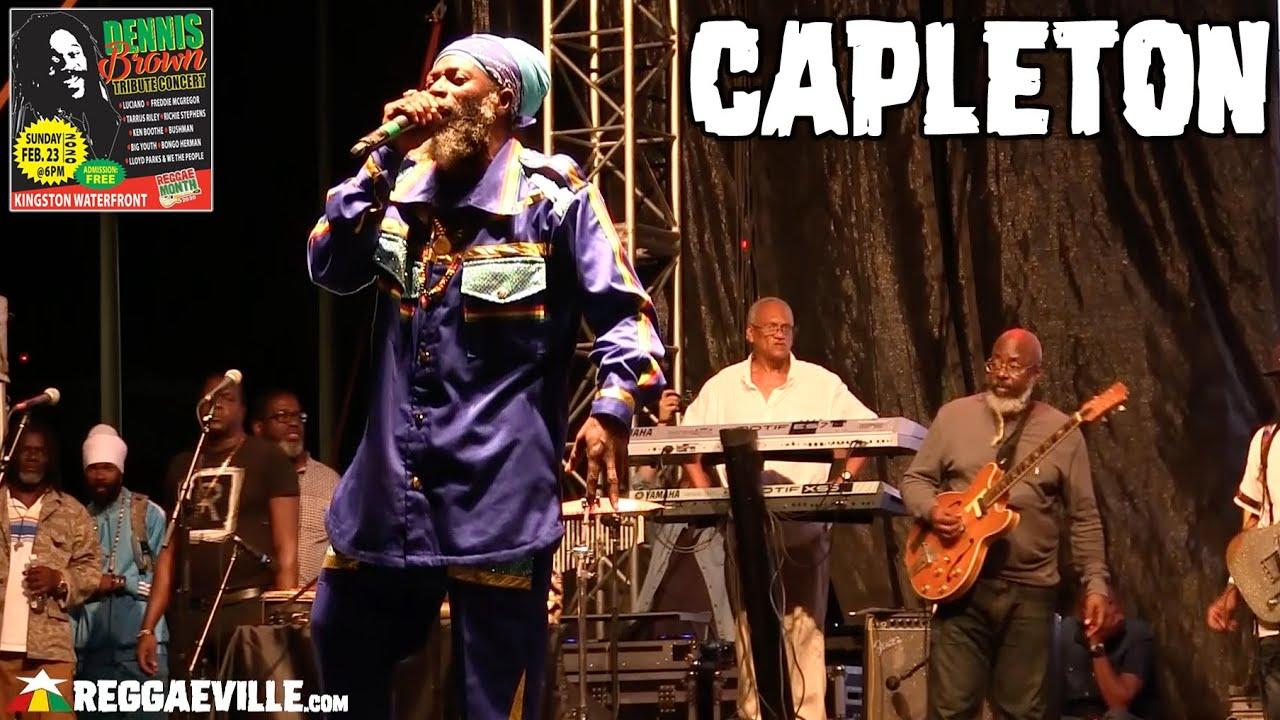 Capleton in Kingston, Jamaica @ Dennis Brown Tribute Concert 2020 [2/23/2020]