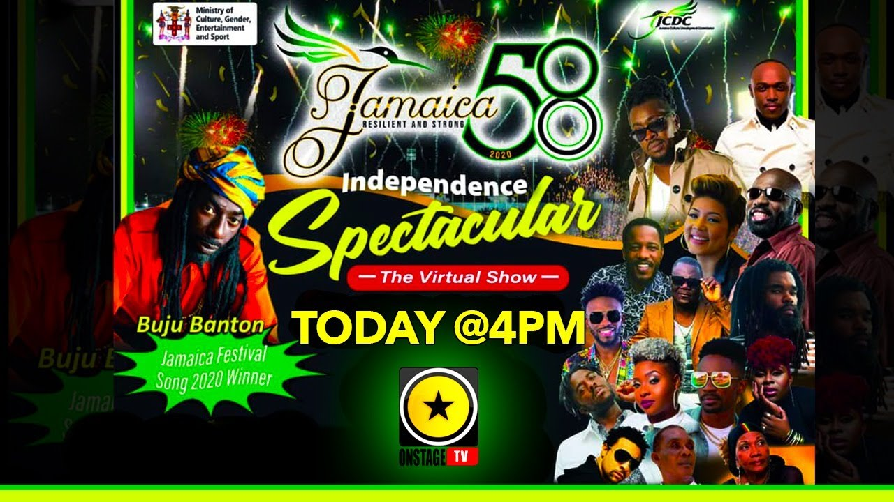 Live Stream - Jamaica 58 Independence Spectacular 2020 [8/6/2020]