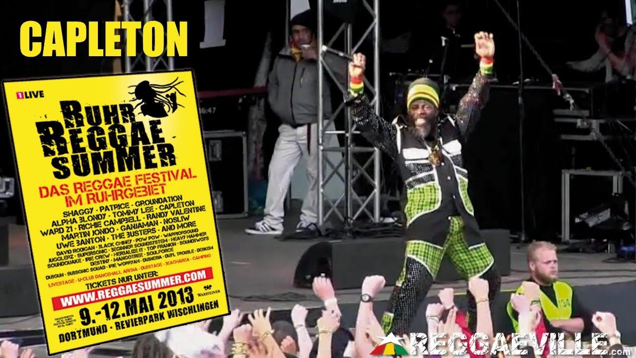 Capleton @Ruhr Reggae Summer in Dortmund [5/12/2013]