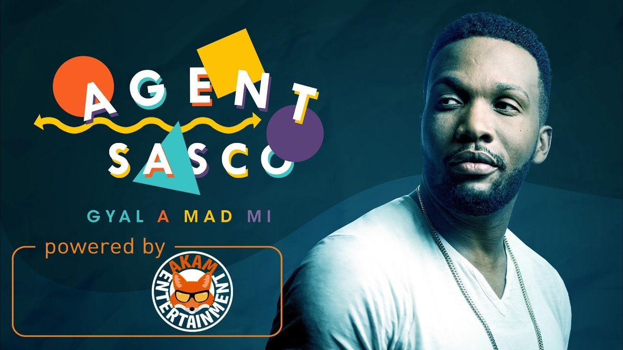 Assassin aka Agent Sasco - Gyal A Mad Mi (Lyric Video) [12/1/2017]