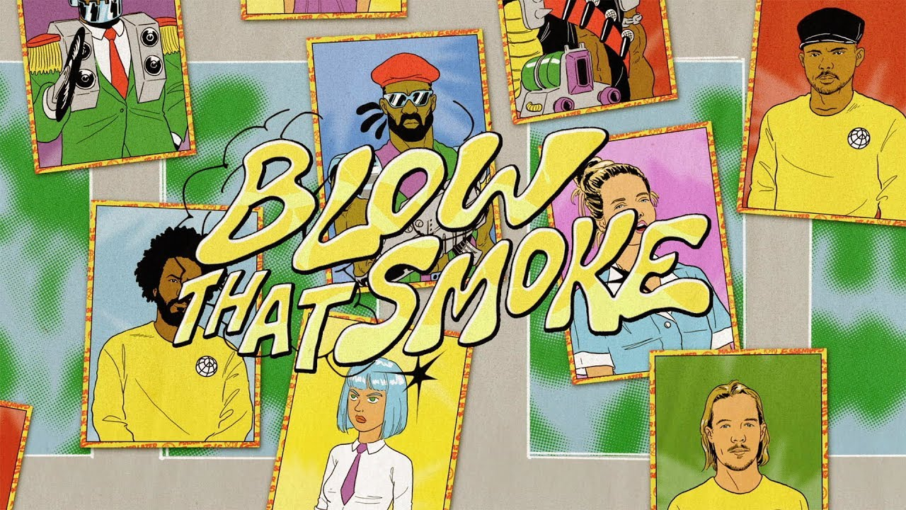 Major Lazer feat. Tove Lo - Blow that Smoke (Lyric Video) [10/17/2018]