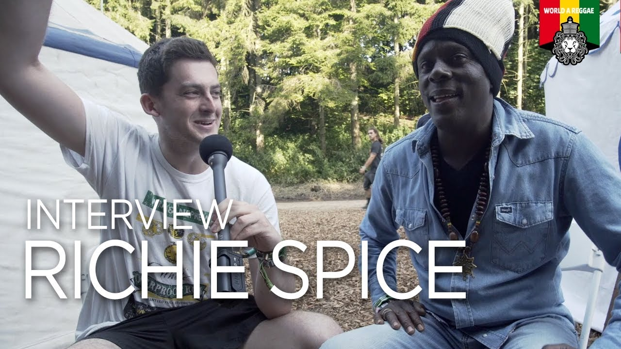 Interview with Richie Spice @ Boomtown 2017 [8/13/2017]