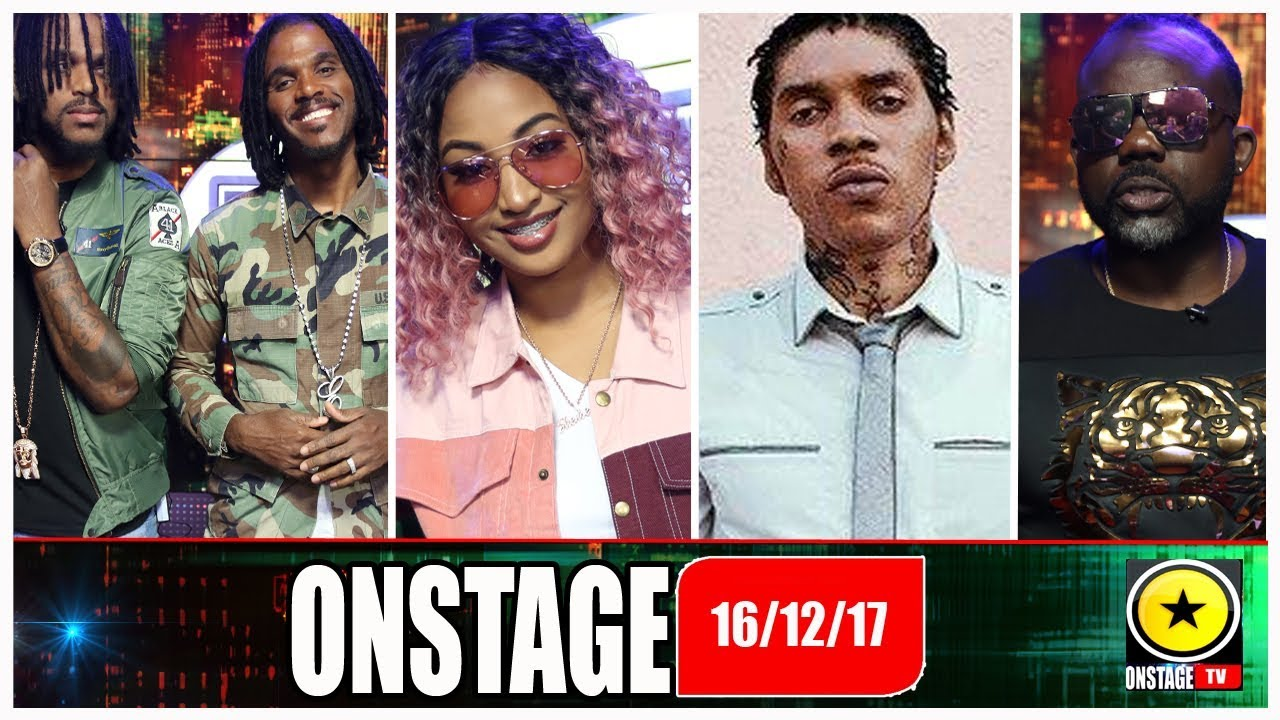 Shenseea, Vybz Kartel's Publisher, Twin Of Twins, Romain Virgo and more @ Onstage TV [12/16/2017]
