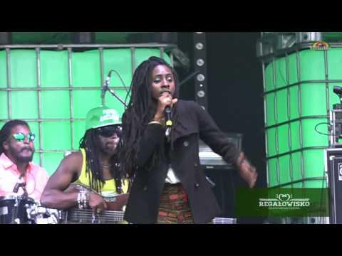 Jah9 & Dubtonic Kru - Steamers A Bubble @ Regalowisko Bielawa Reggae Festival 2014 [8/23/2014]