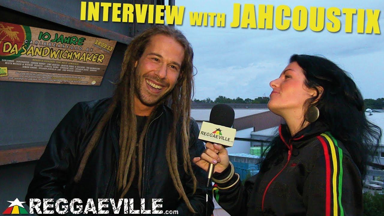 Interview with Jahcoustix @ 10 Jahre Da Sandwichmaker in Augsburg, Germany [9/14/2013]