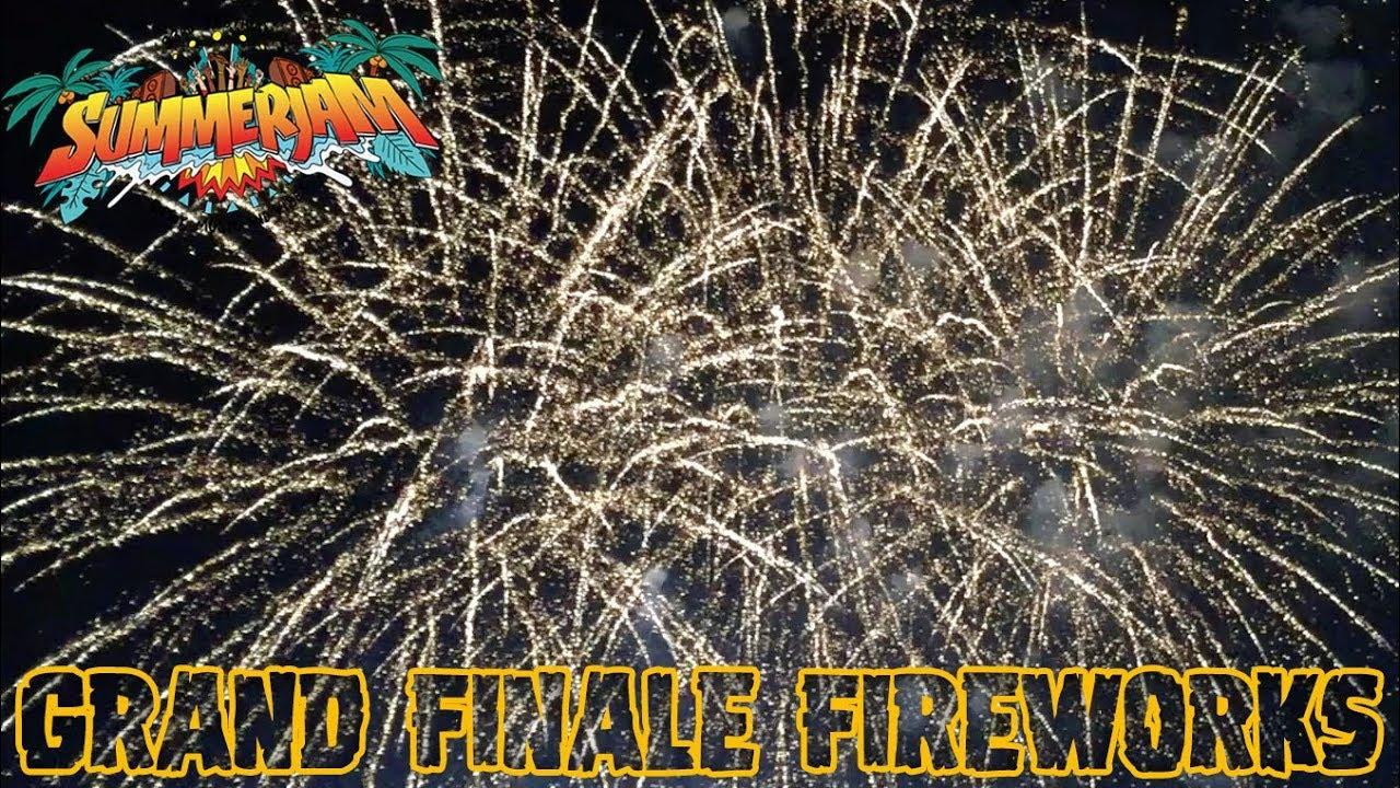Grand Finale Fireworks - SummerJam Vibes 2018 [7/8/2018]