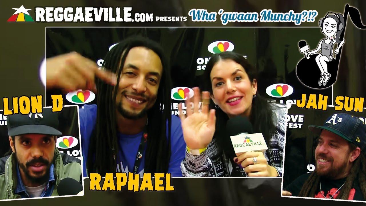Lion D, Jah Sun & Raphael @ Wha' Gwaan Munchy?!? #33 [11/23/2016]