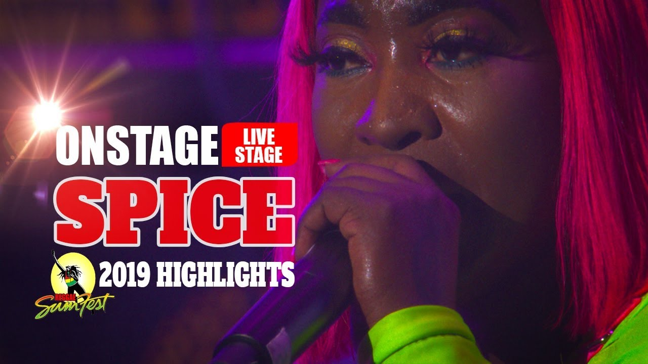 Spice Is In A Romantic Mood @ Reggae Sumfest 2019 (OnStage TV) [7/19/2019]