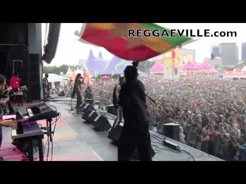 Damian Marley - Brussels, Belgium @ Tour & Taxi [6/27/2010]