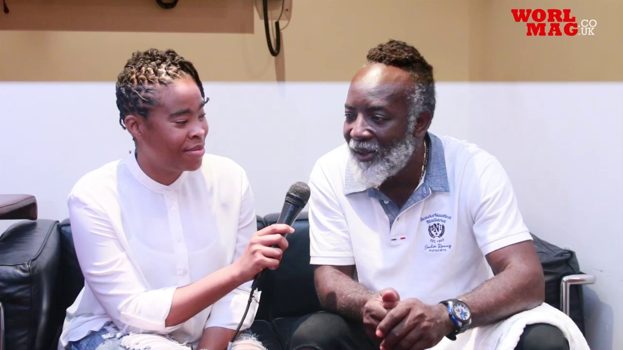 Interview with Freddie McGregor by Worlmag TV @ Jamaica House 2017 [8/5/2017]
