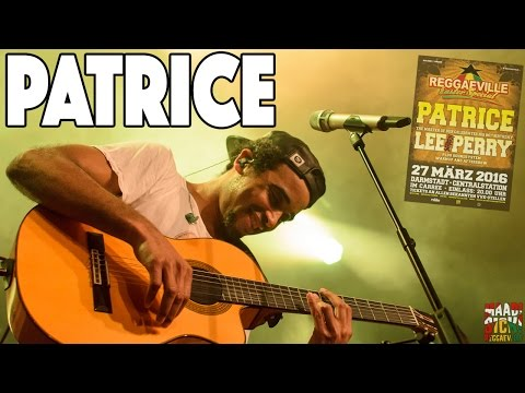 Patrice - Cry Cry Cry in Darmstadt, Germany @ Reggaeville Easter Special 2016 [3/27/2016]