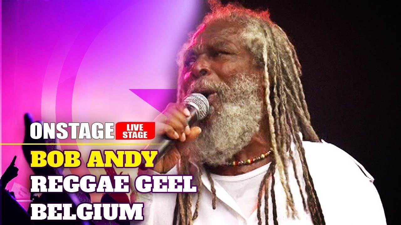Bob Andy @ Reggae Geel 2012 (OnStage TV) [8/8/2012]