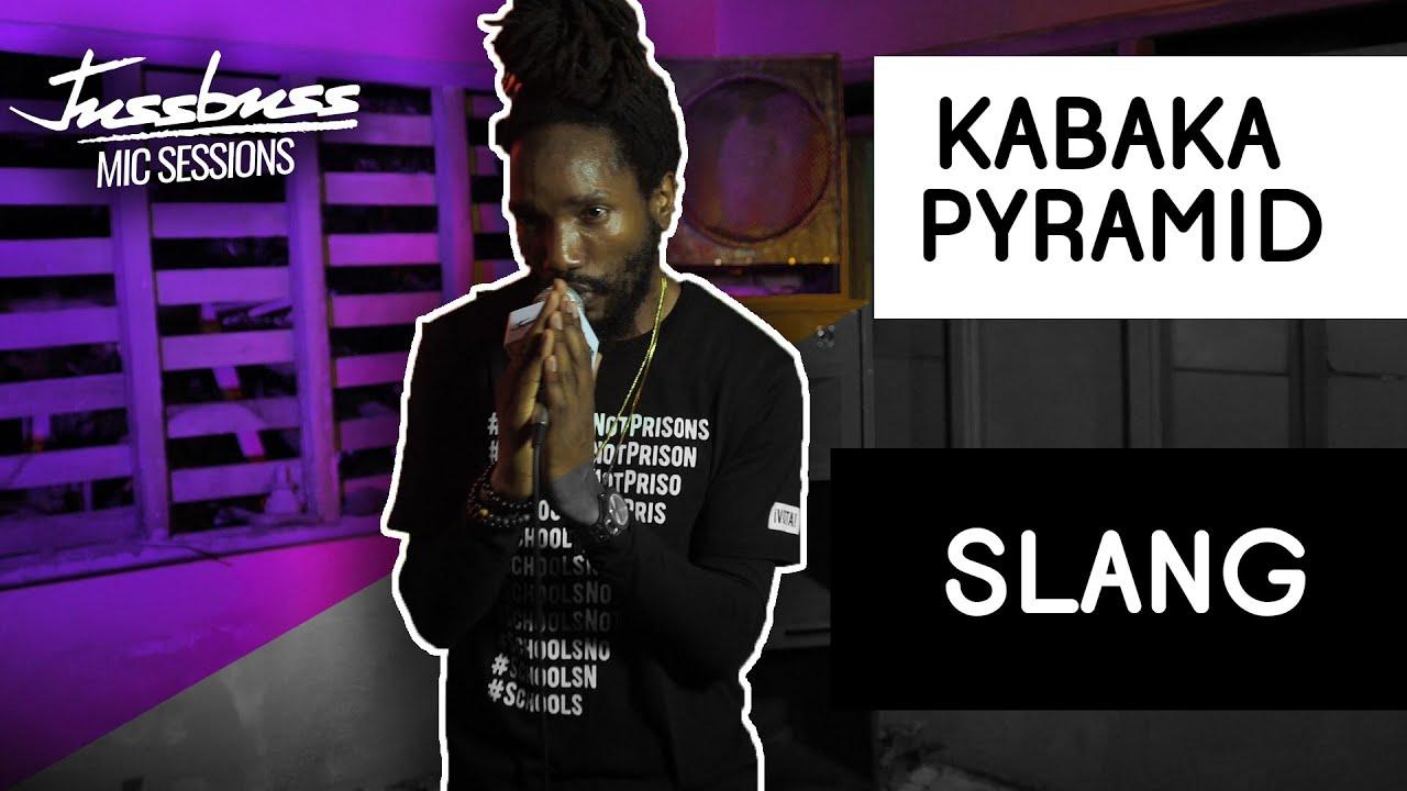 Kabaka Pyramid - Slang @ Jussbuss Mic Sessions [6/11/2019]