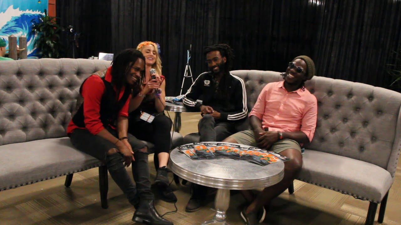 Raging Fyah Interview @ California Roots Festival 2018 [5/27/2018]