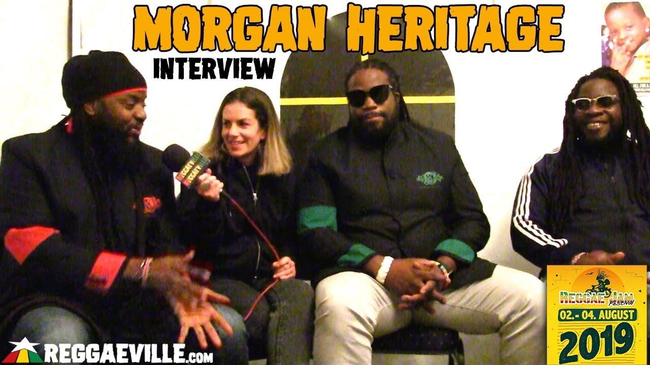 Morgan Heritage - Interview @ Reggae Jam 2019 [8/3/2019]