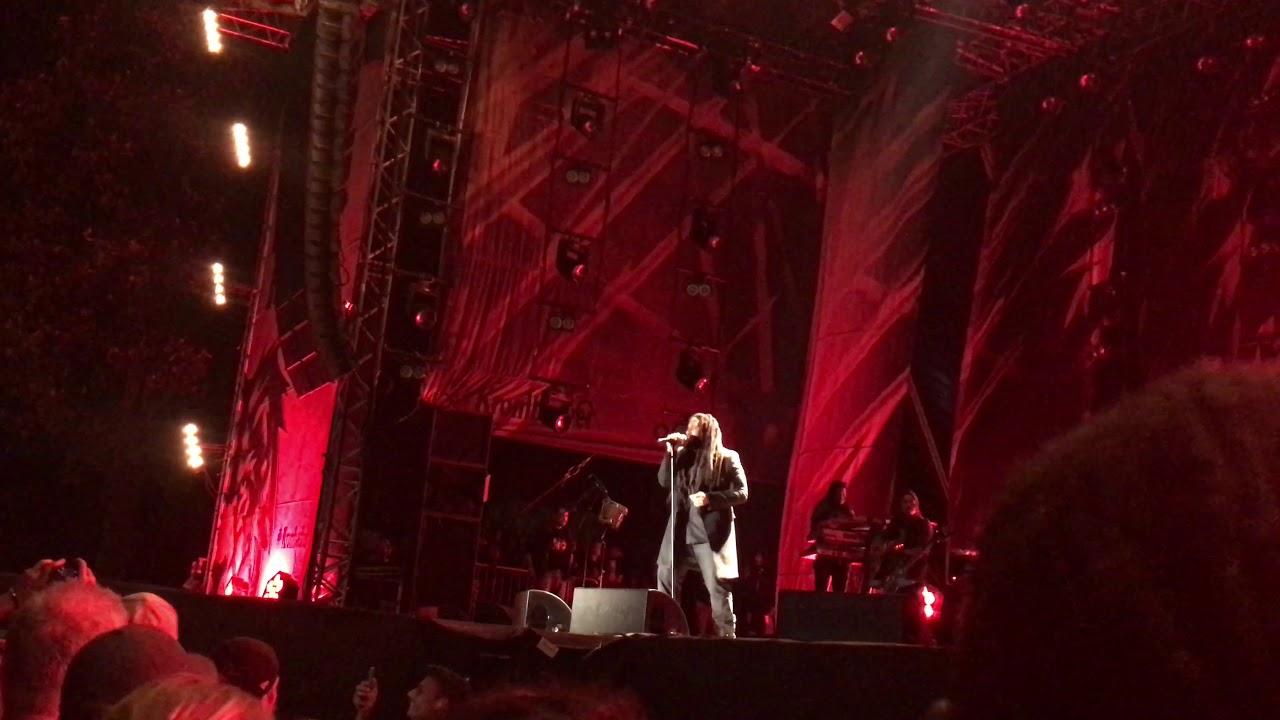 Ky-Mani Marley - Redemption Song @ Ruhr Reggae Summer 2018 (FanVideo) [8/11/2018]