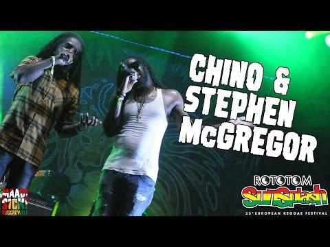 Chino & Stephen McGrgor @ Rototom Sunsplash 2016 [8/20/2016]