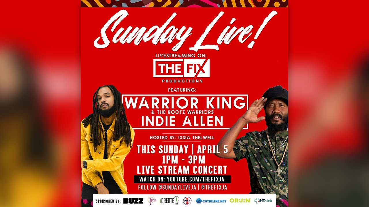 Warrior King & Indie Allen @ Sunday Live! (The Fix) [4/5/2020]