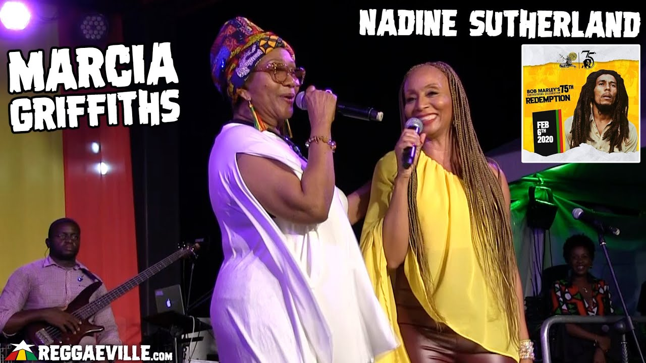 Marcia Griffiths & Nadine Sutherland @ Bob Marley 75th Earthstrong Celebration in Kingston, Jamaica [2/6/2020]