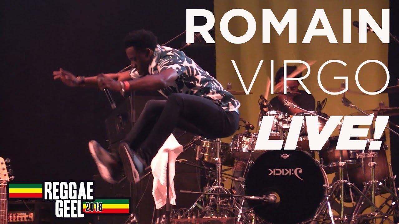 Romain Virgo @ Reggae Geel 2018 (Full Show) [8/4/2018]