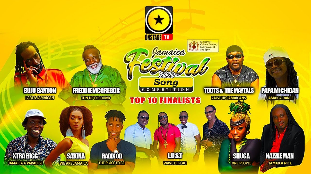 Jamaica Festival 2020 Song Competition - Finals [7/26/2020]