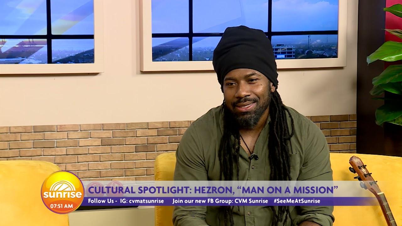 Herzen Interview @ Sunrise - Cultural Spolight   CVMTV [7/23/2021]