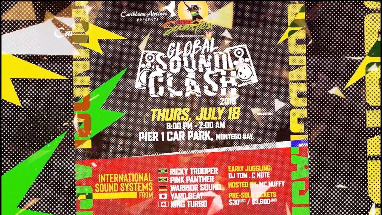 Global Sound Clash - Reggae Sumfest 2019 [5/13/2019]