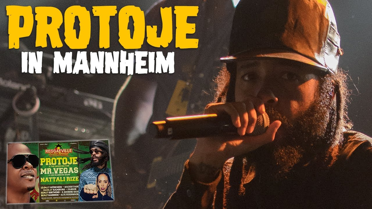 Protoje & The Indiggnation - Kingston Be Wise in Mannheim, Germany @ Reggaeville Easter Special 2017 [4/16/2017]