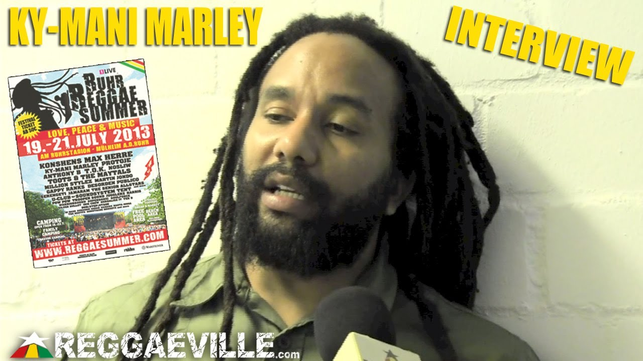Interview with Ky-Mani Marley @ Ruhr Reggae Summer [7/20/2013]