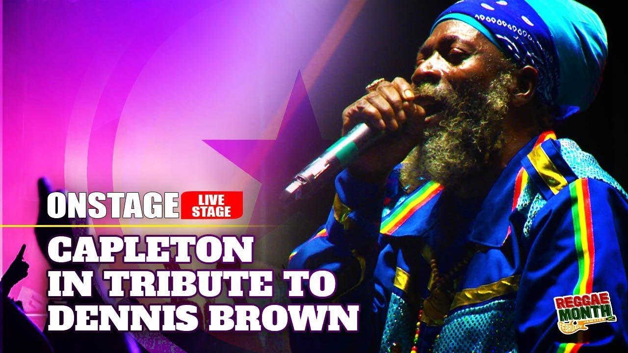 Capleton in Kingston, Jamaica @ Tribute To Dennis Brown 2020 (OnStage TV) [2/24/2020]