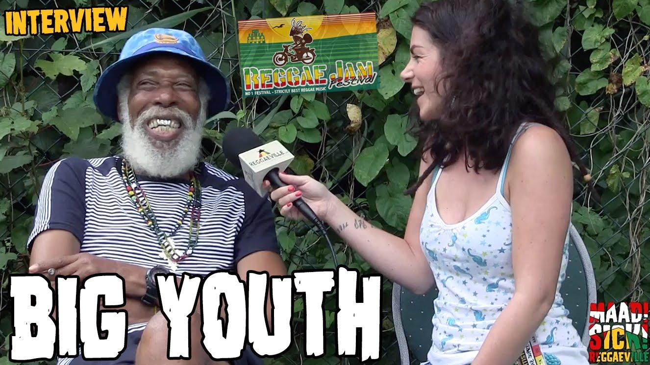 Big Youth - Interview @ Reggae Jam 2016 [7/31/2016]