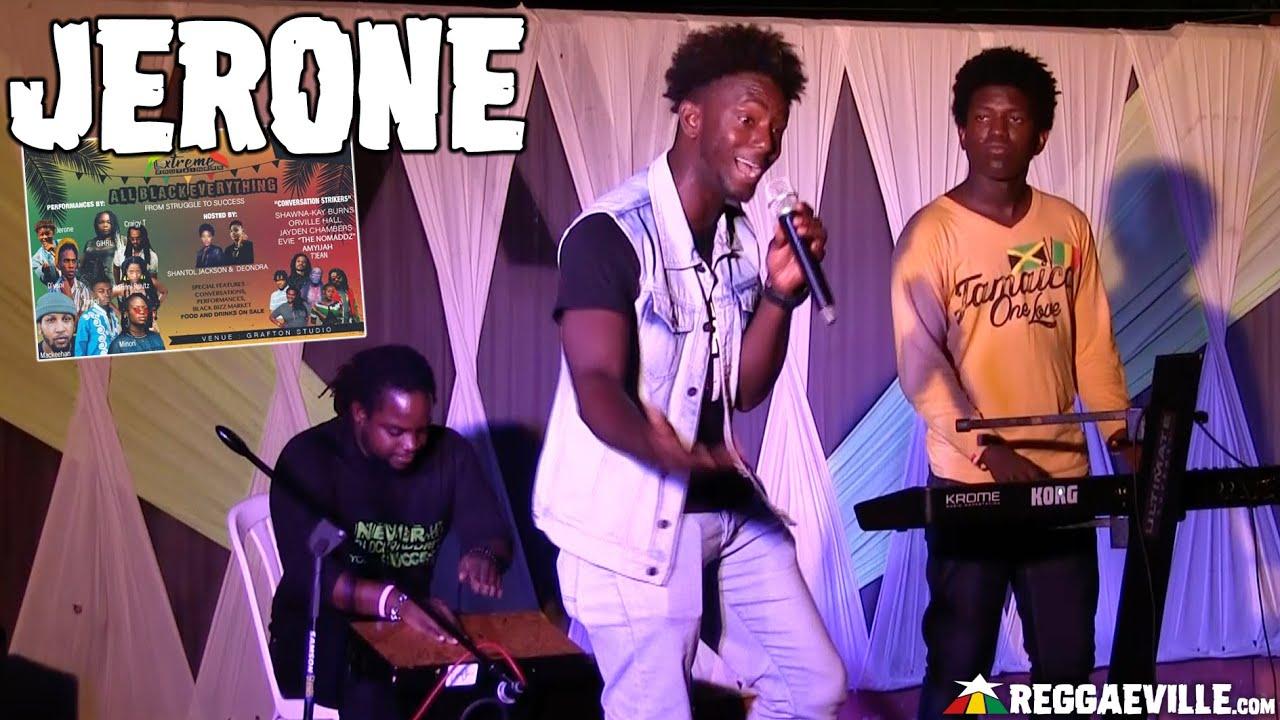 Jerone in Kingston, Jamaica @ Grafton Studios - All Black Everything [2/21/2020]