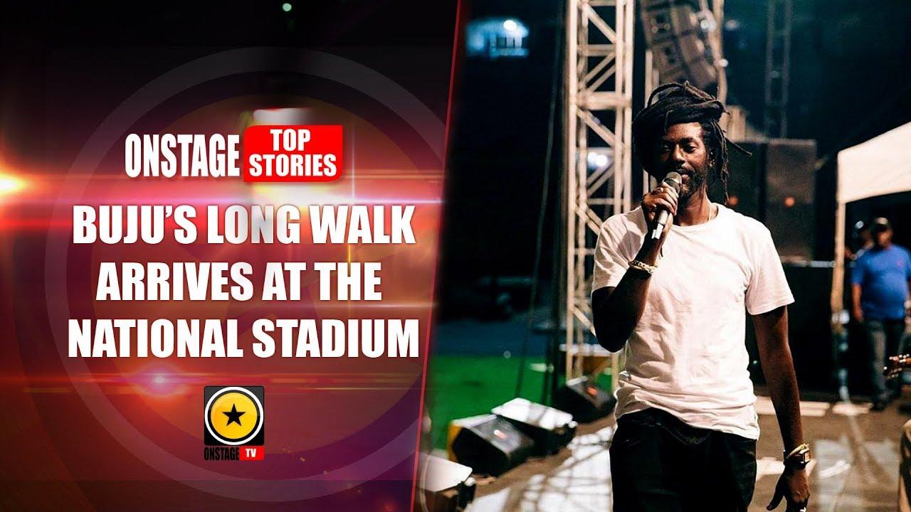 Buju Banton's Long Walk Arrives at The National Stadium (OnStage TV Report) [3/16/2019]