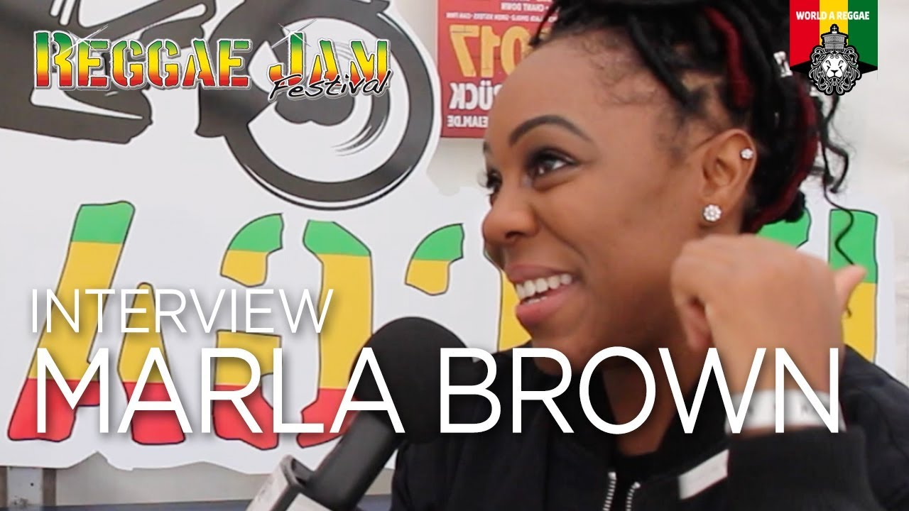 Interview with Marla Brown @ Reggae Jam 2017 [7/28/2017]