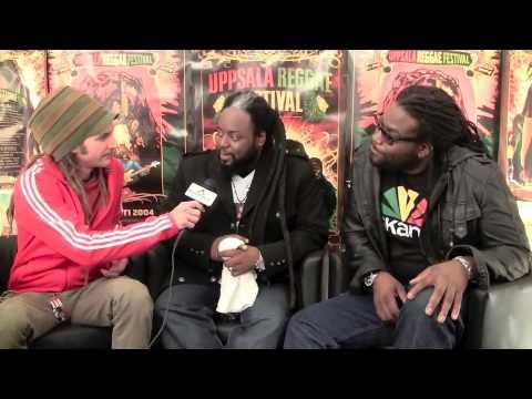 Interview: Peetah & Gramps Morgan @ Uppsala Reggae Festival [8/6/2010]