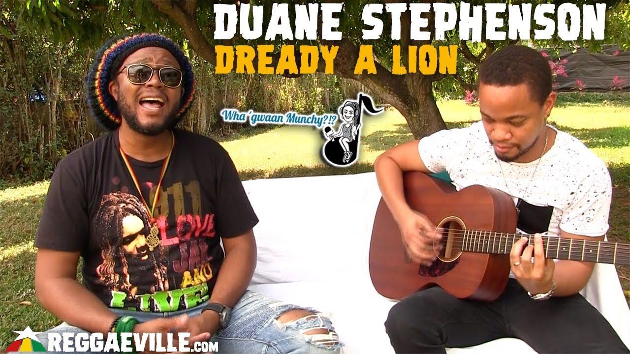 Duane Stephenson - Dready A Lion @ Wha' Gwaan Munchy?!? 2019 [3/11/2019]