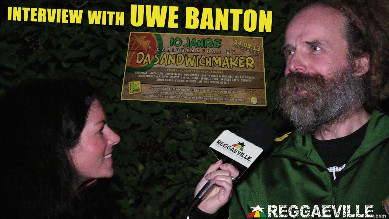 Interview with Uwe Banton @ 10 Jahre Da Sandwichmaker in Augsburg, Germany [9/14/2013]