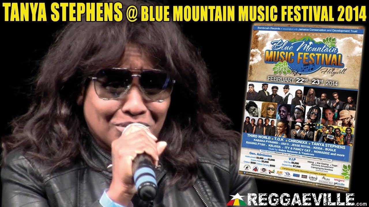 Tanya Stephens @ Blue Mountain Music Festival 2014 [2/22/2014]