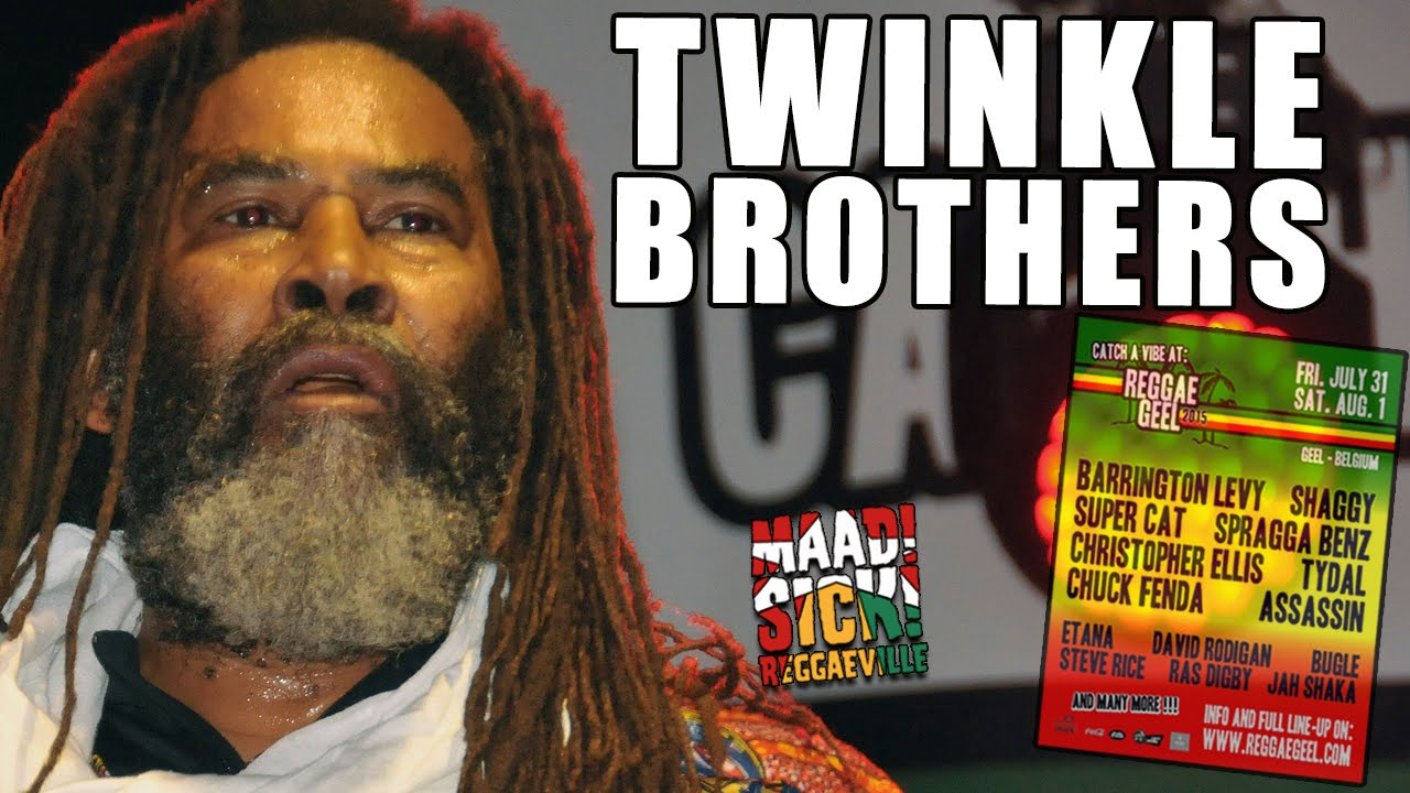 Twinkle Brothers - Since I Throw The Comb Away @ Reggae Geel 2015 [8/1/2015]