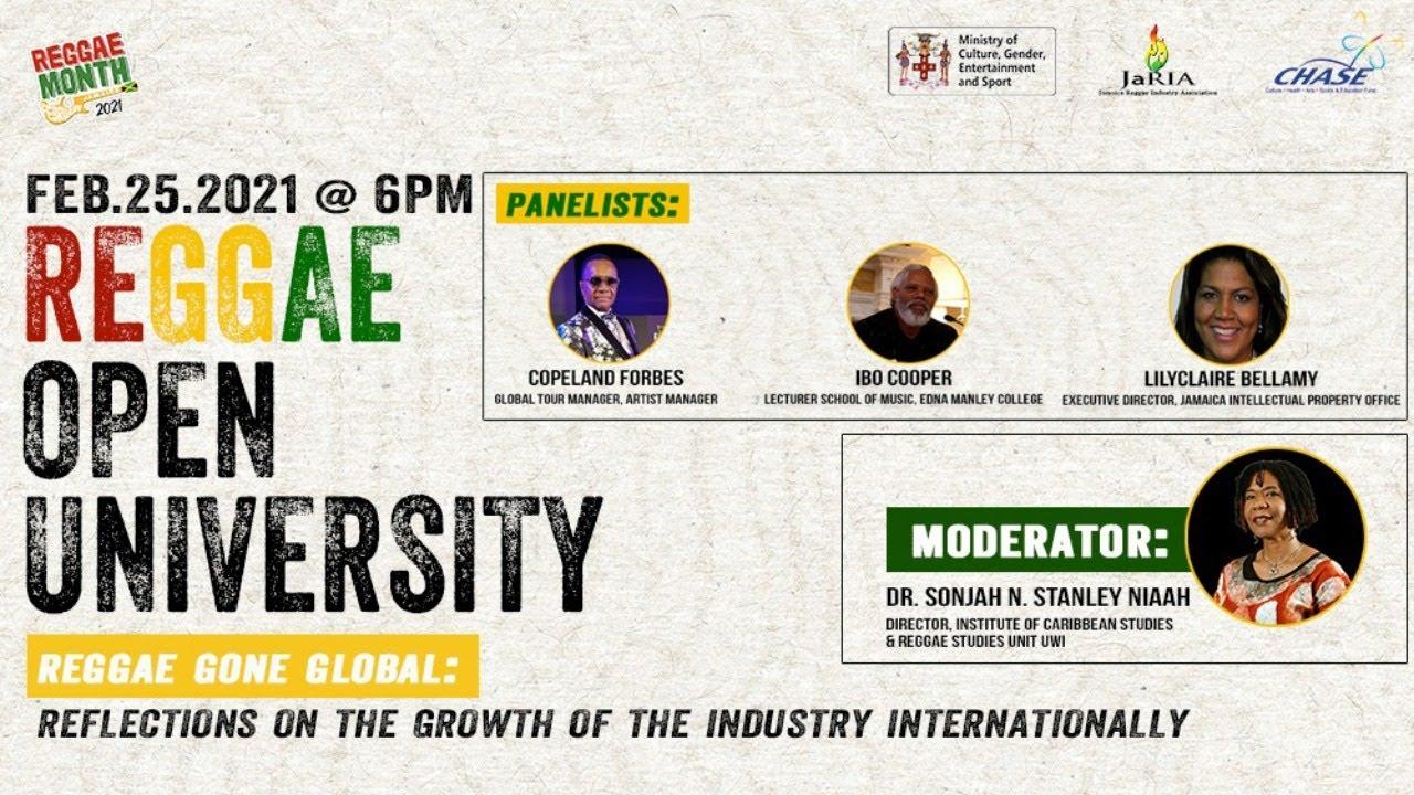 Reggae Open University - Reggae Gone Global 2021 (Live Stream) [2/25/2021]