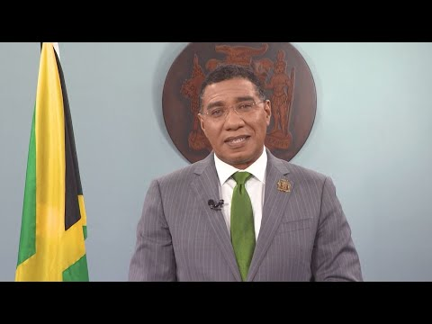 Jamaica 58th Independence Day - Message by The Most Hon. Andrew Holness PM [8/6/2020]
